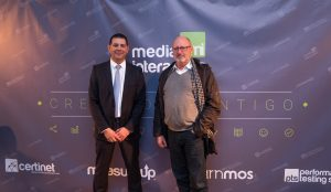 Bernhard Roters (CLIC) y Antonio Gamito (MEDIA INTERACTIVA)