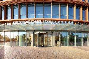 Entrada Eurostars Torre Sevilla